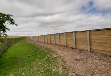 Acoustic Fencing - Various Sites